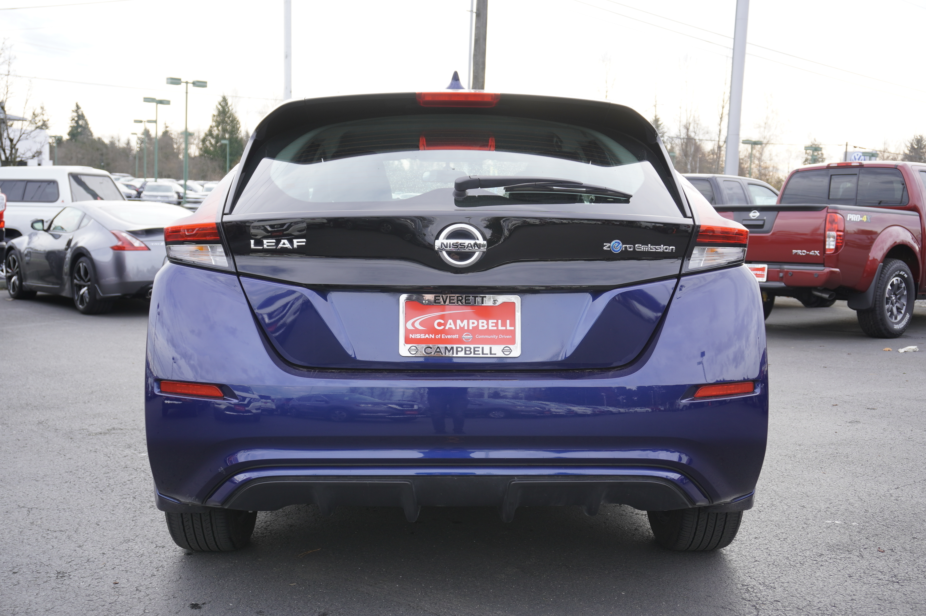 Certified Pre-Owned 2018 Nissan Leaf S