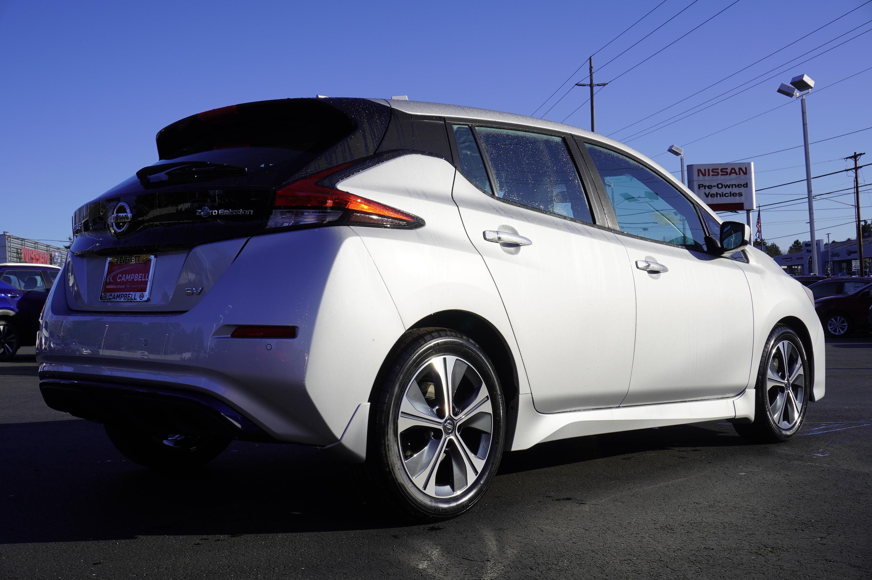 New 2020 Nissan Leaf SV All Weather Package