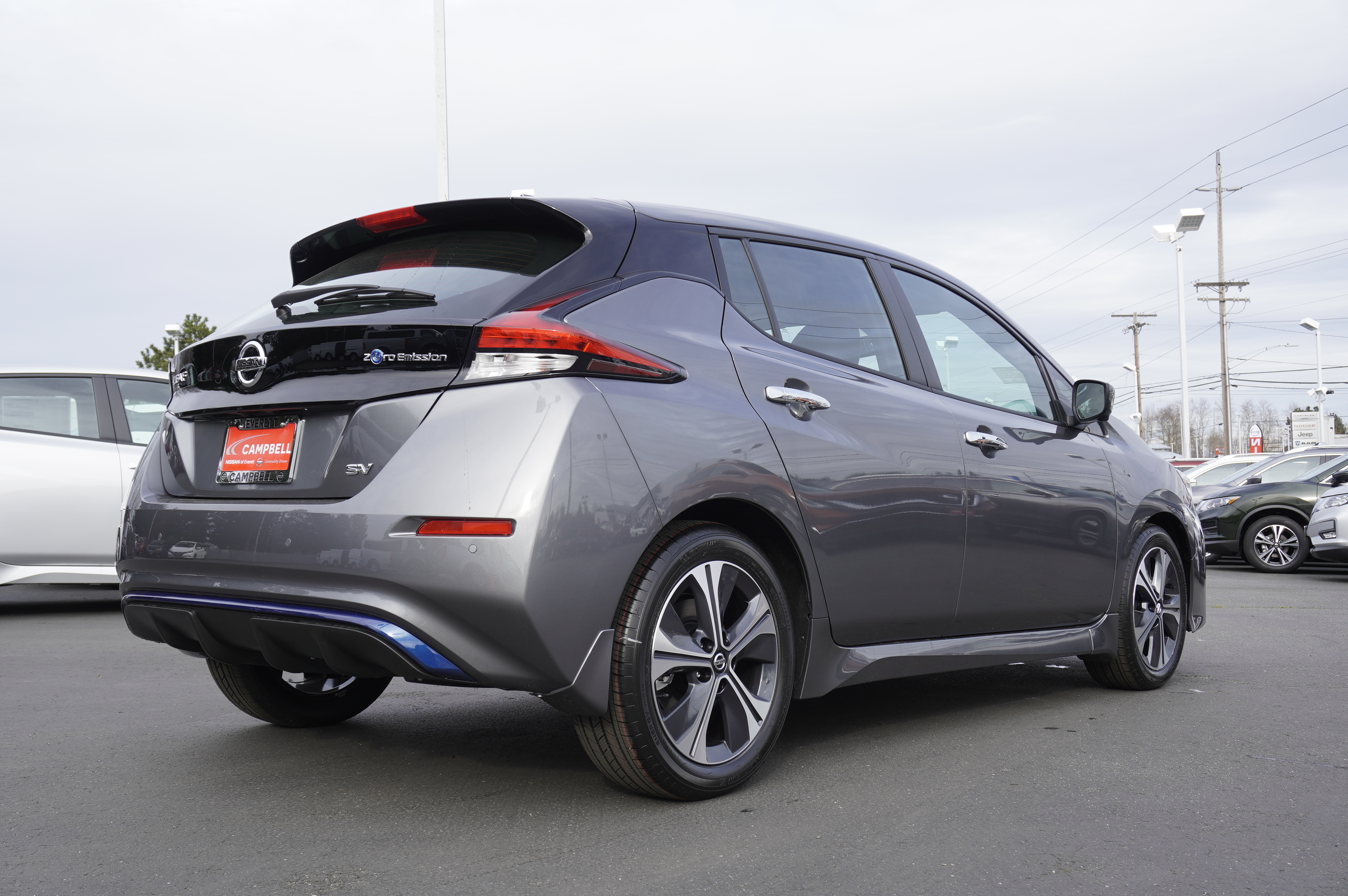 New 2020 Nissan Leaf SV All Weather & Tech Pack