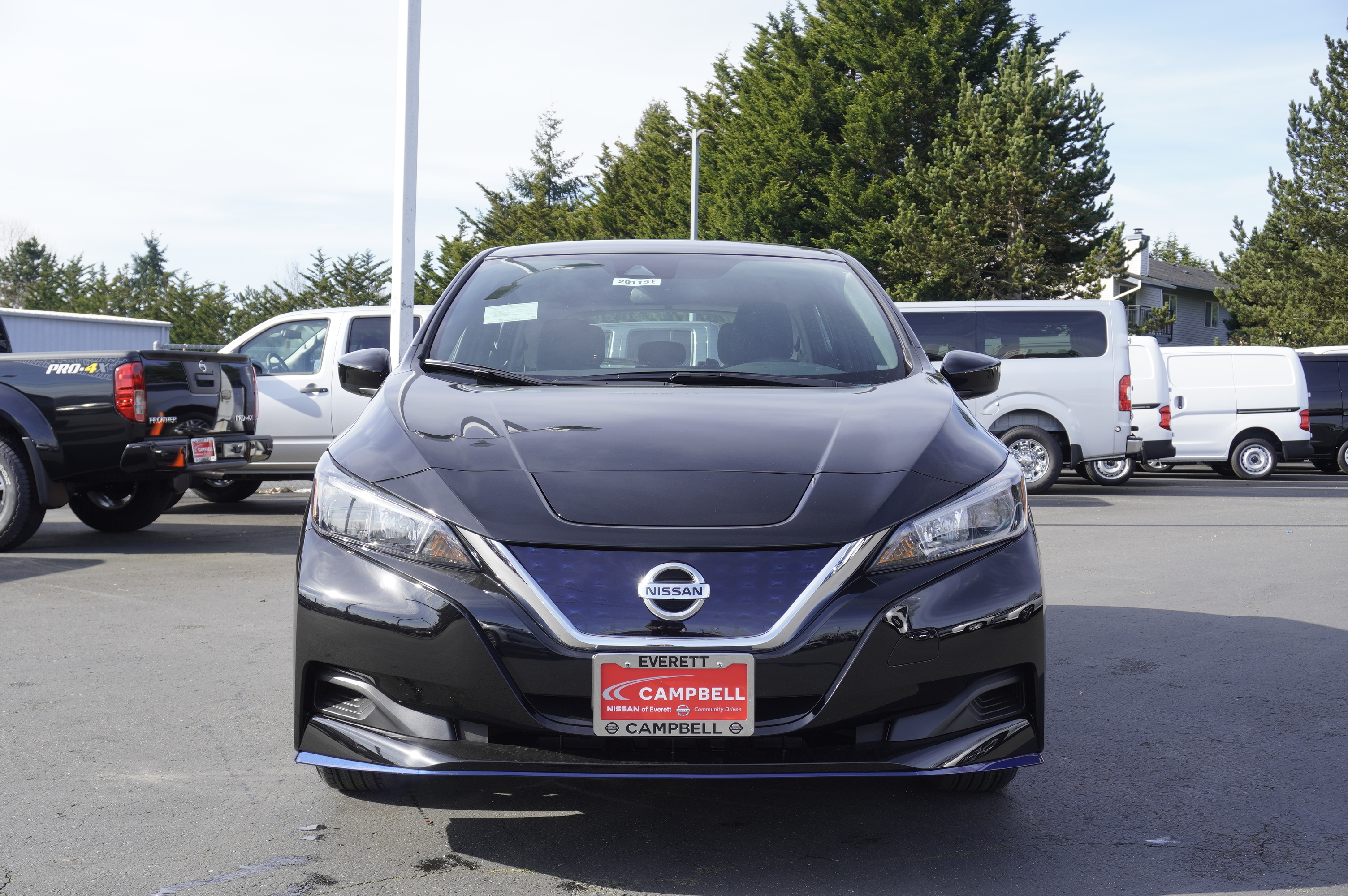 New 2020 Nissan Leaf S Plus