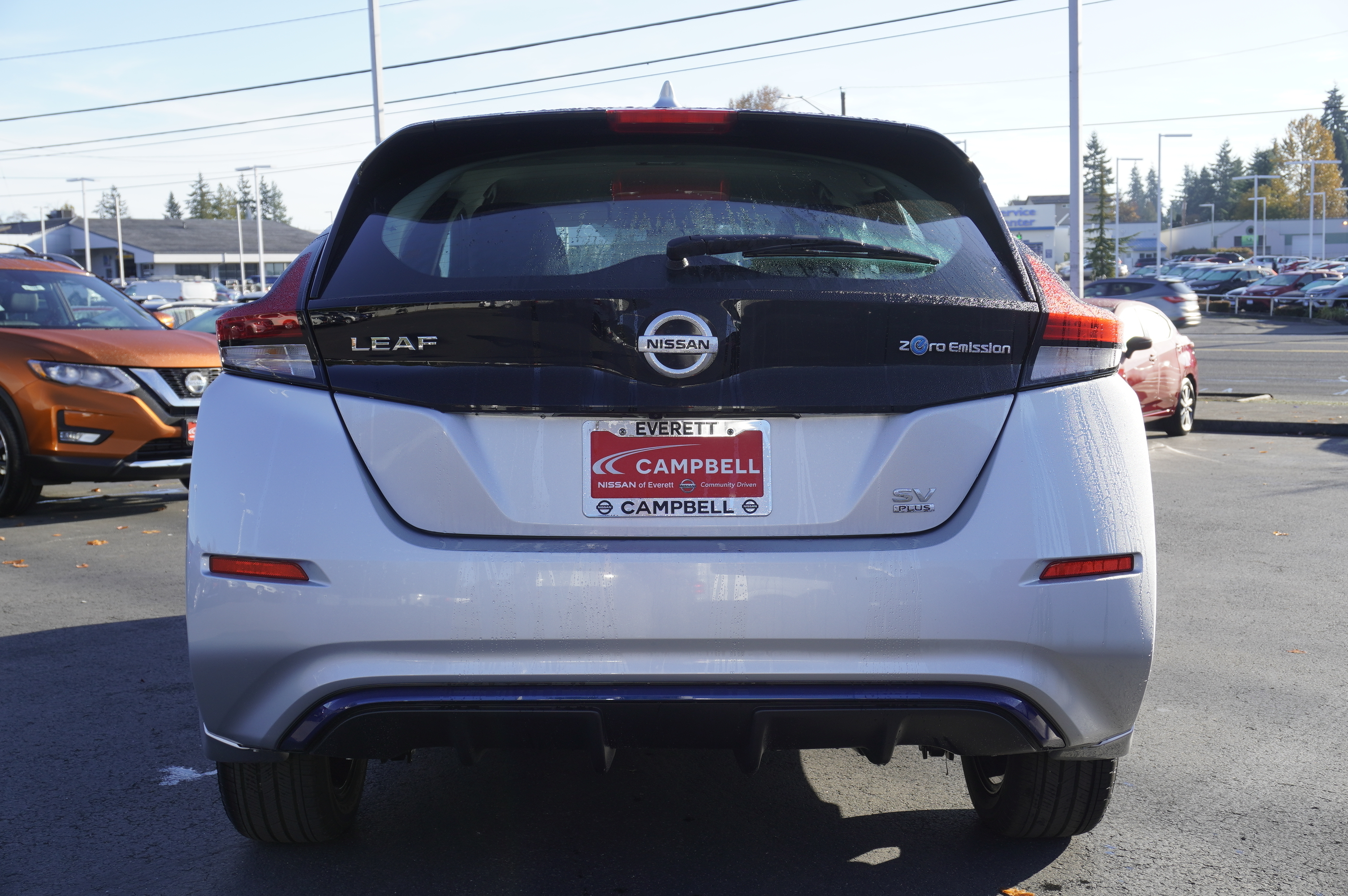 New 2019 Nissan Leaf SV Plus w/Tech