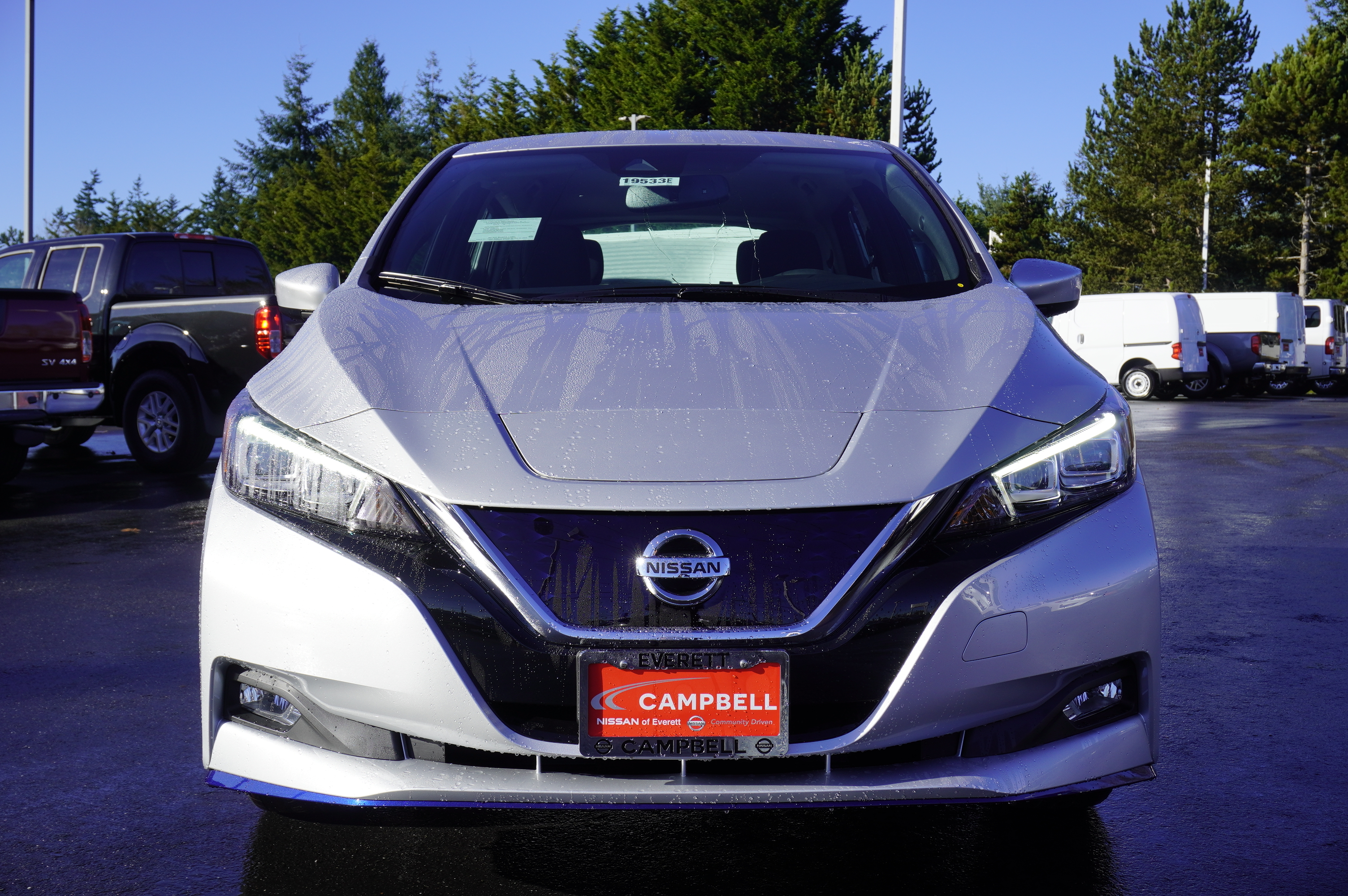 New 2019 Nissan Leaf SV Plus w/ All weather and Tech
