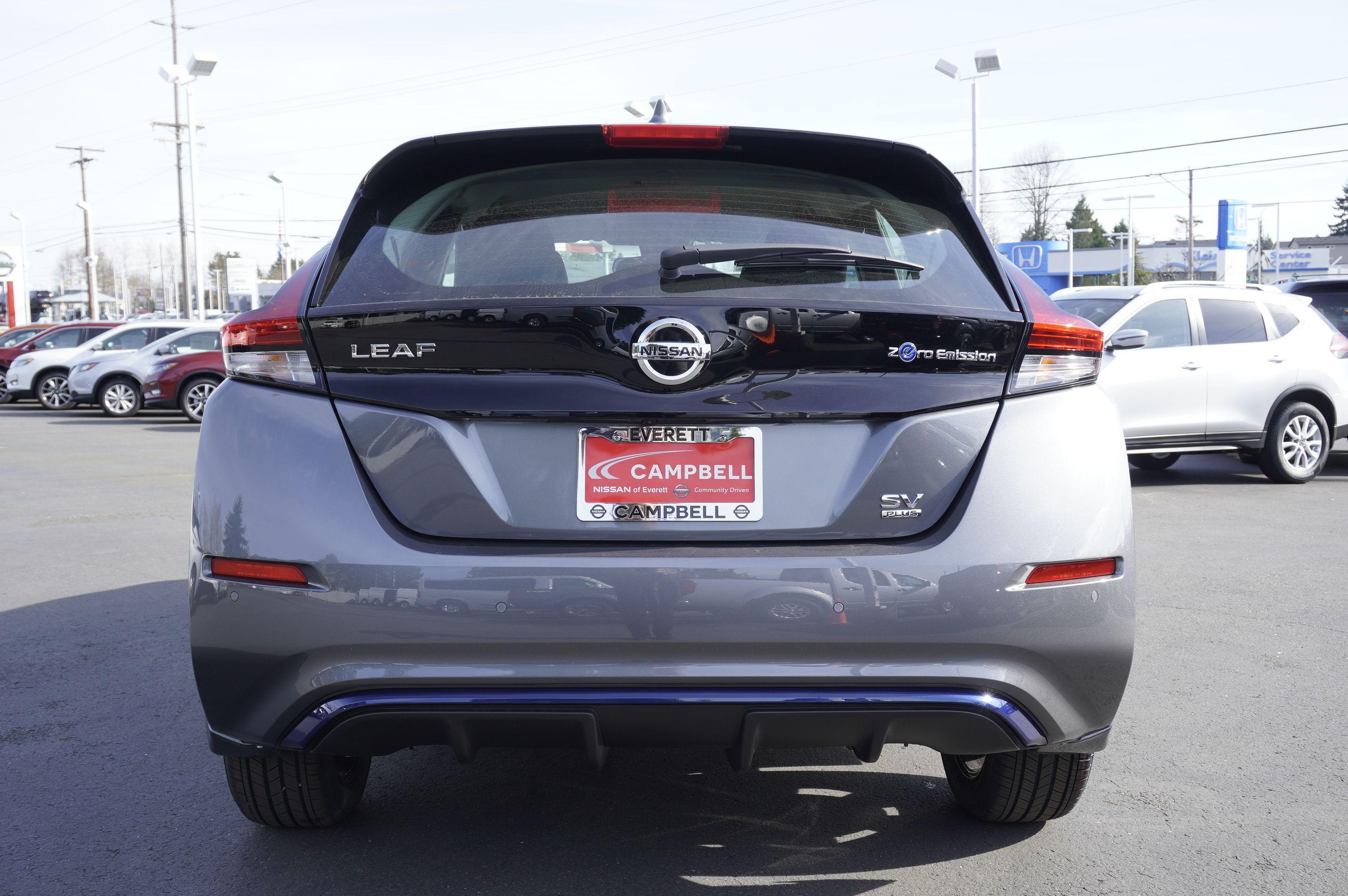New 2020 Nissan Leaf SV Plus All Weather
