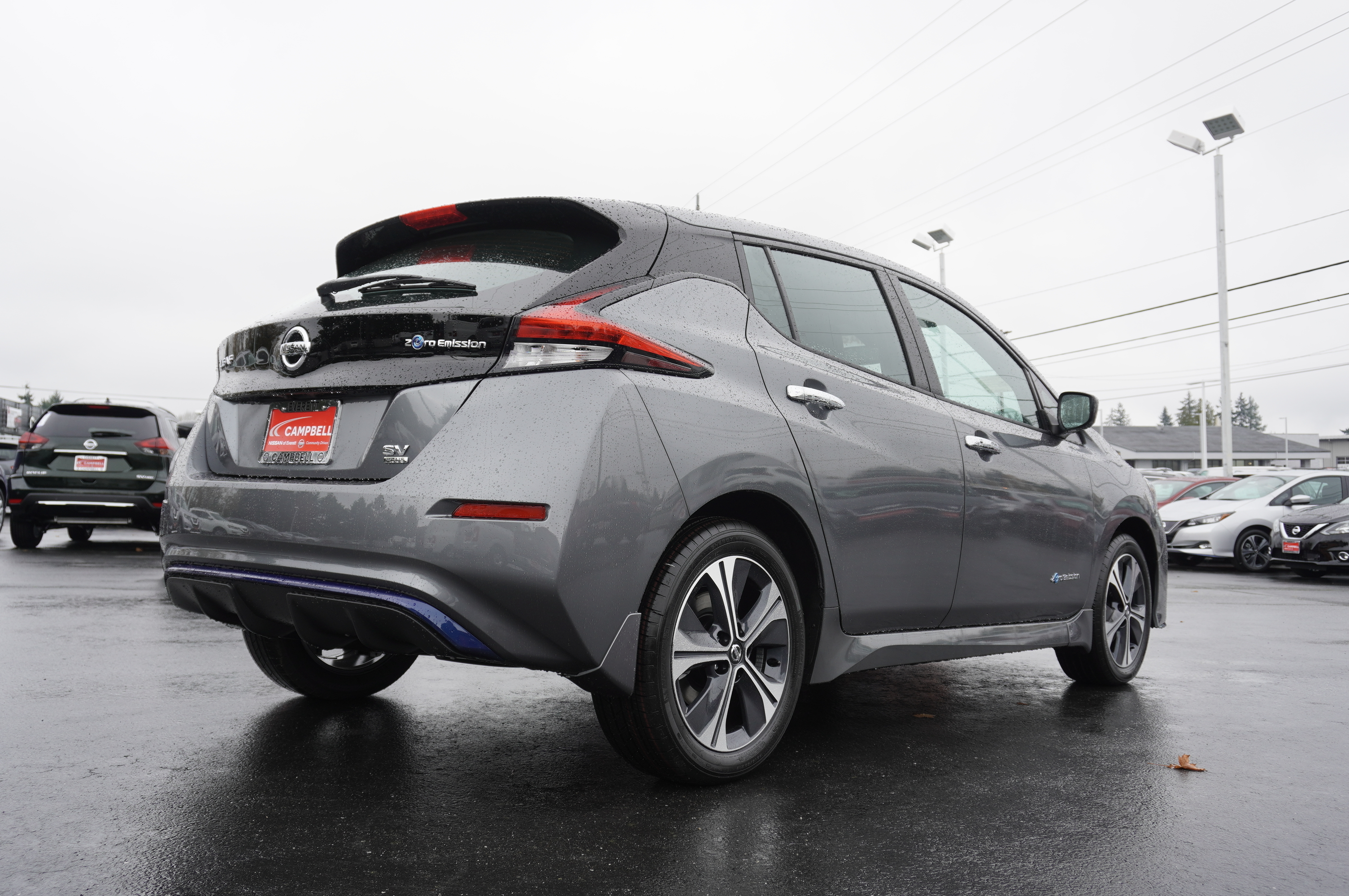 New 2019 Nissan Leaf SV Plus w/Tech package