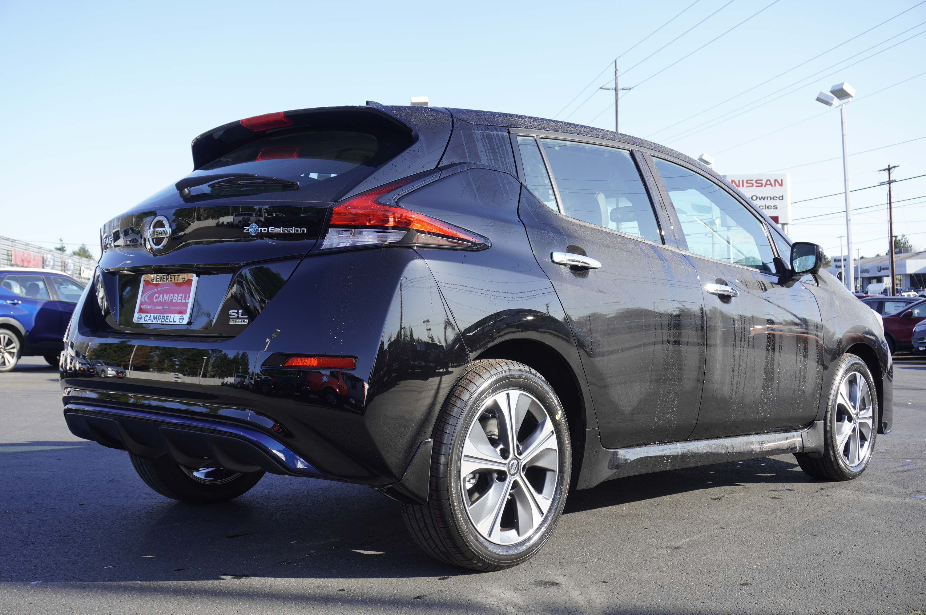 New 2020 Nissan Leaf SL Plus