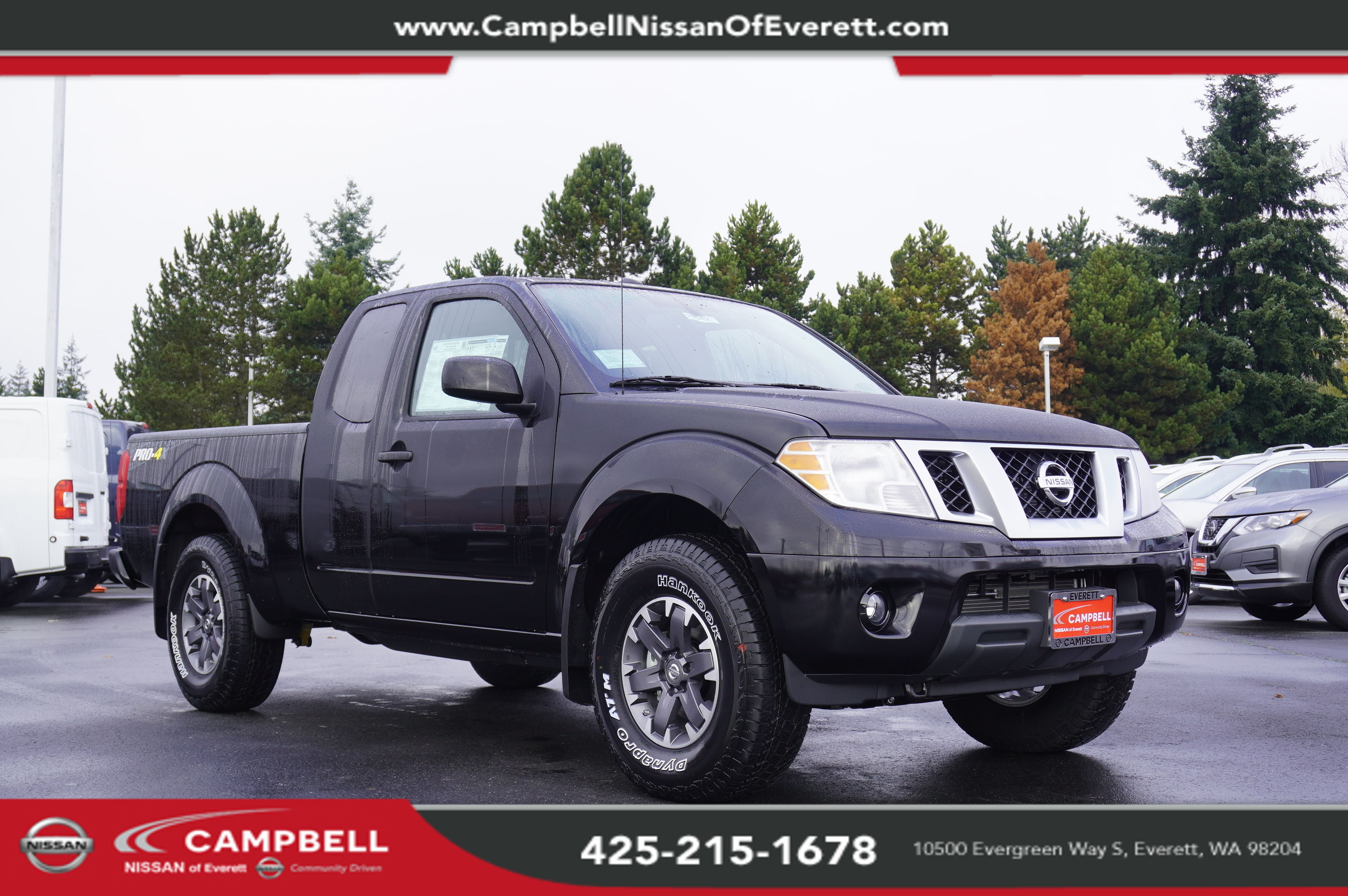 Frontier Pro 4x >> New 2019 Nissan Frontier Pro 4x