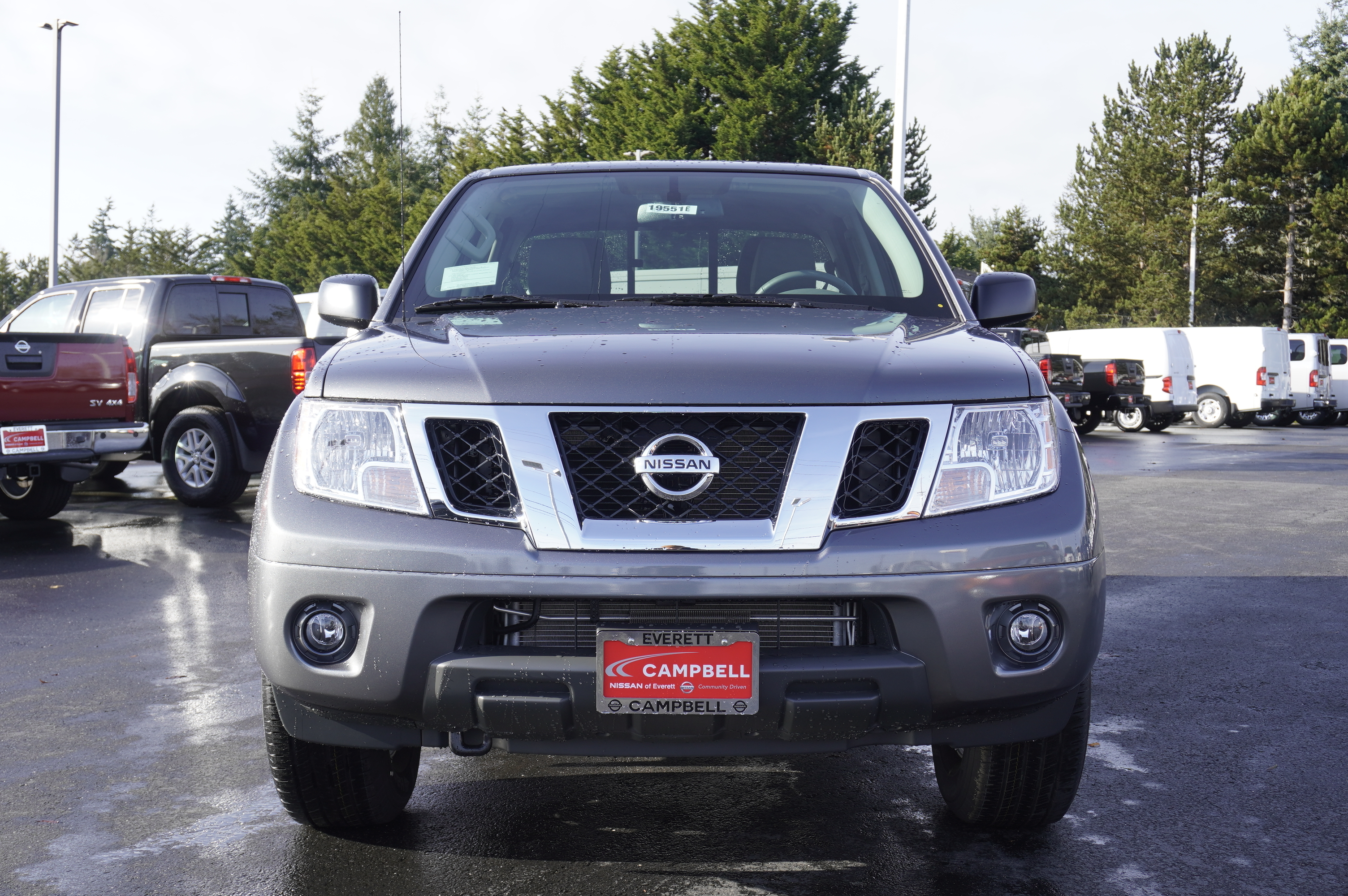 New 2019 Nissan Frontier SV Value Moonroof Package