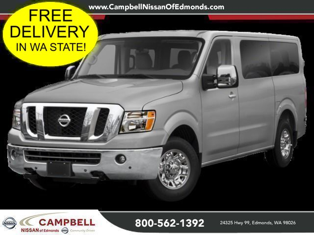 New 2019 Nissan NV Passenger 3500 HD SL