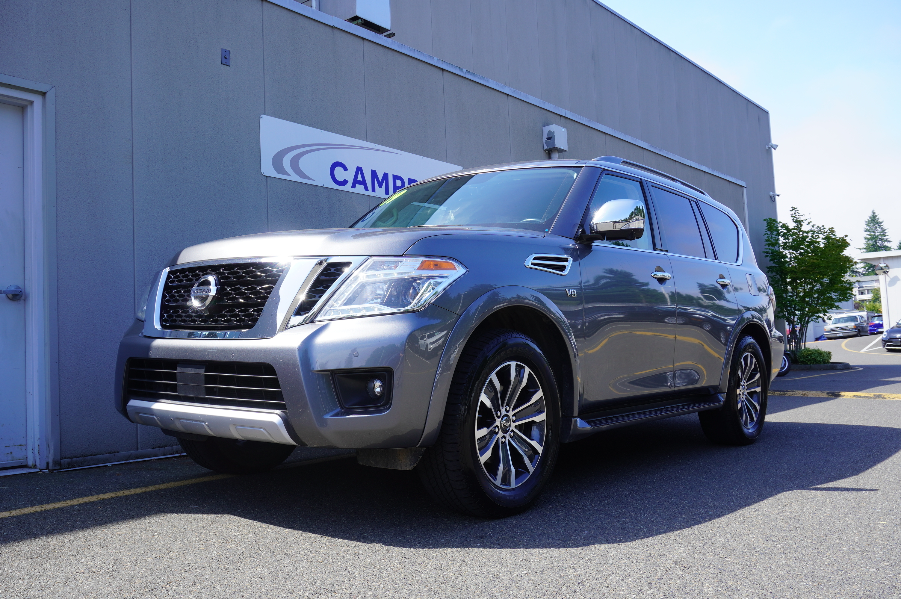 Certified Pre-Owned 2018 Nissan Armada SL