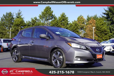 New 2020 Nissan Leaf SV All Weather & Tech Package