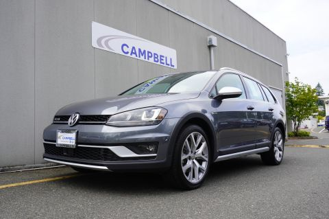 Certified Pre-Owned 2017 VOLKSWAGEN Golf Alltrack TSI SEL