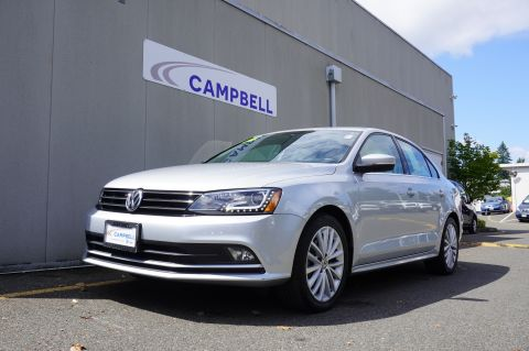 Certified Pre-Owned 2016 VOLKSWAGEN Jetta 1.8T SEL w/Drivers Assistance